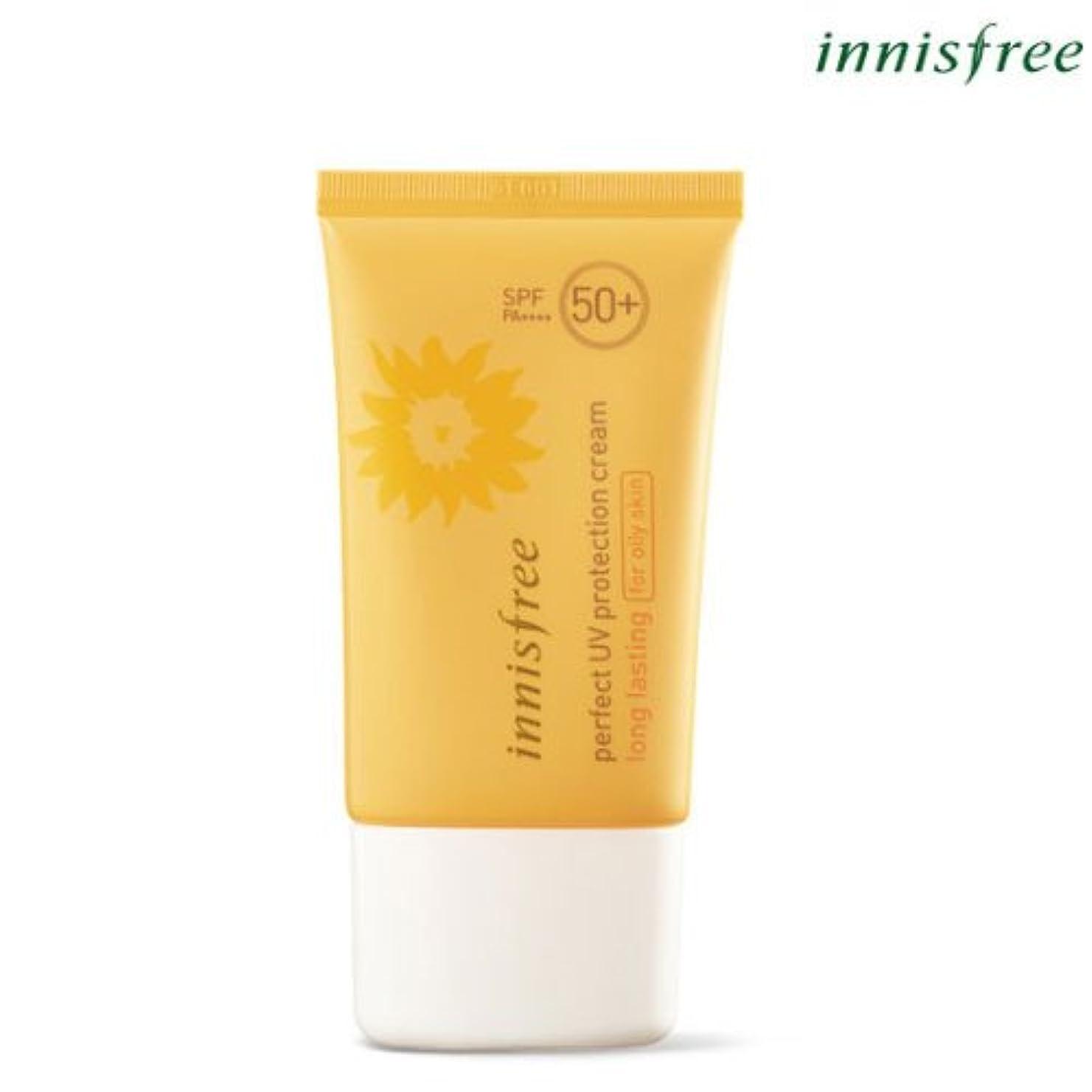 推定落胆させる部[INNISFREE]イニスフリーパーフェクト UV プロテクション クリームロングラスティング[オイリー肌のためFOR OILY SKIN]SPF50+ PA++++ 50mL perfect UV protection...