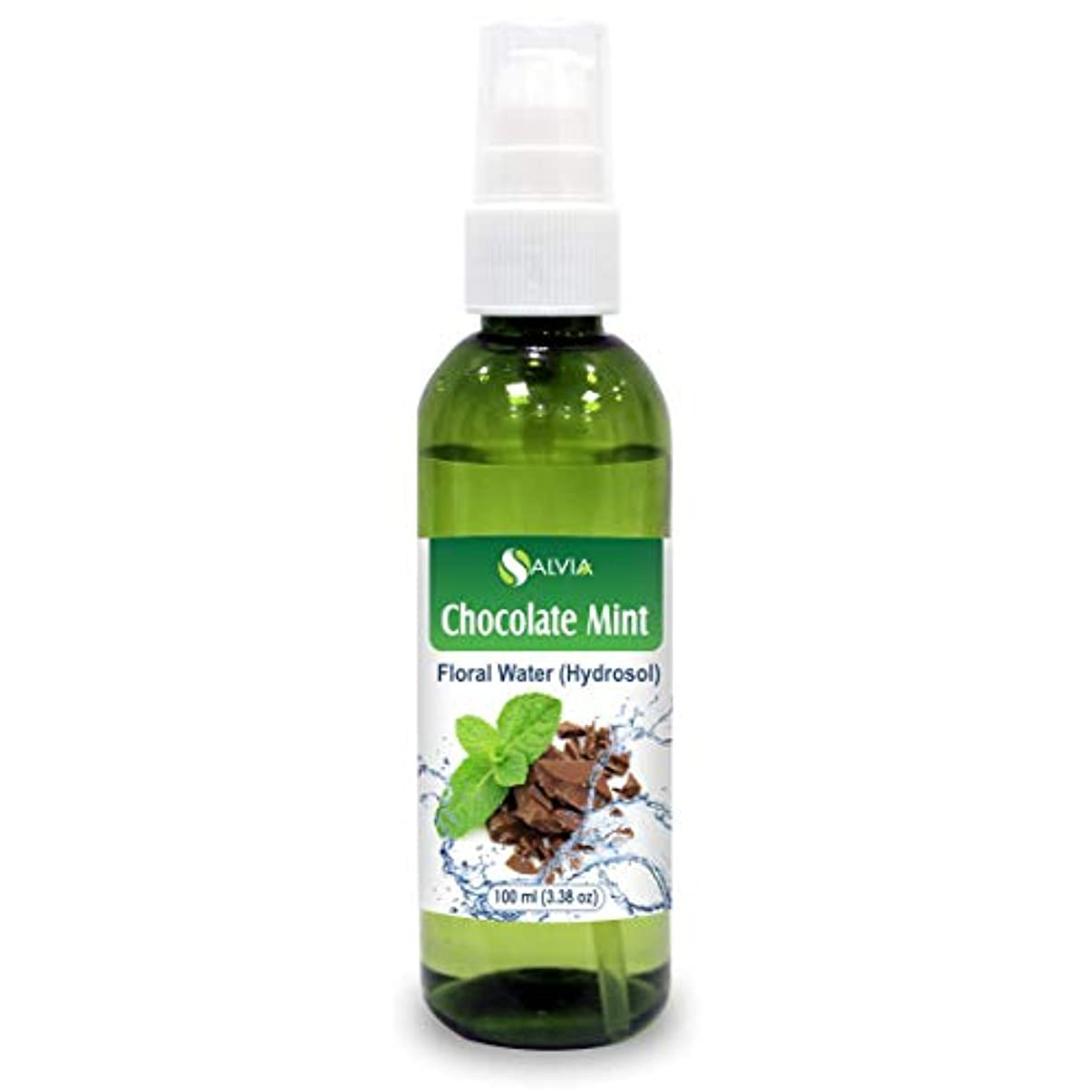 ハイキング日帰り旅行にビリーヤギChocolate Mint Floral Water 100ml (Hydrosol) 100% Pure And Natural