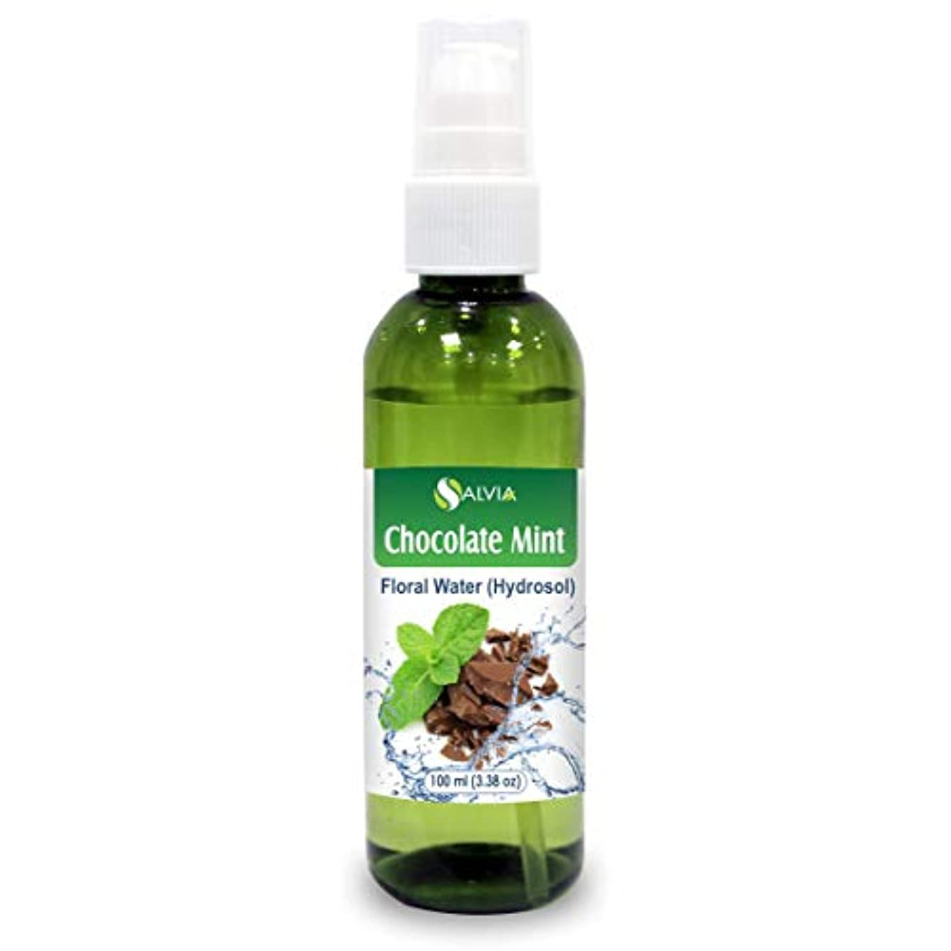 ウッズルーテクスチャーChocolate Mint Floral Water 100ml (Hydrosol) 100% Pure And Natural