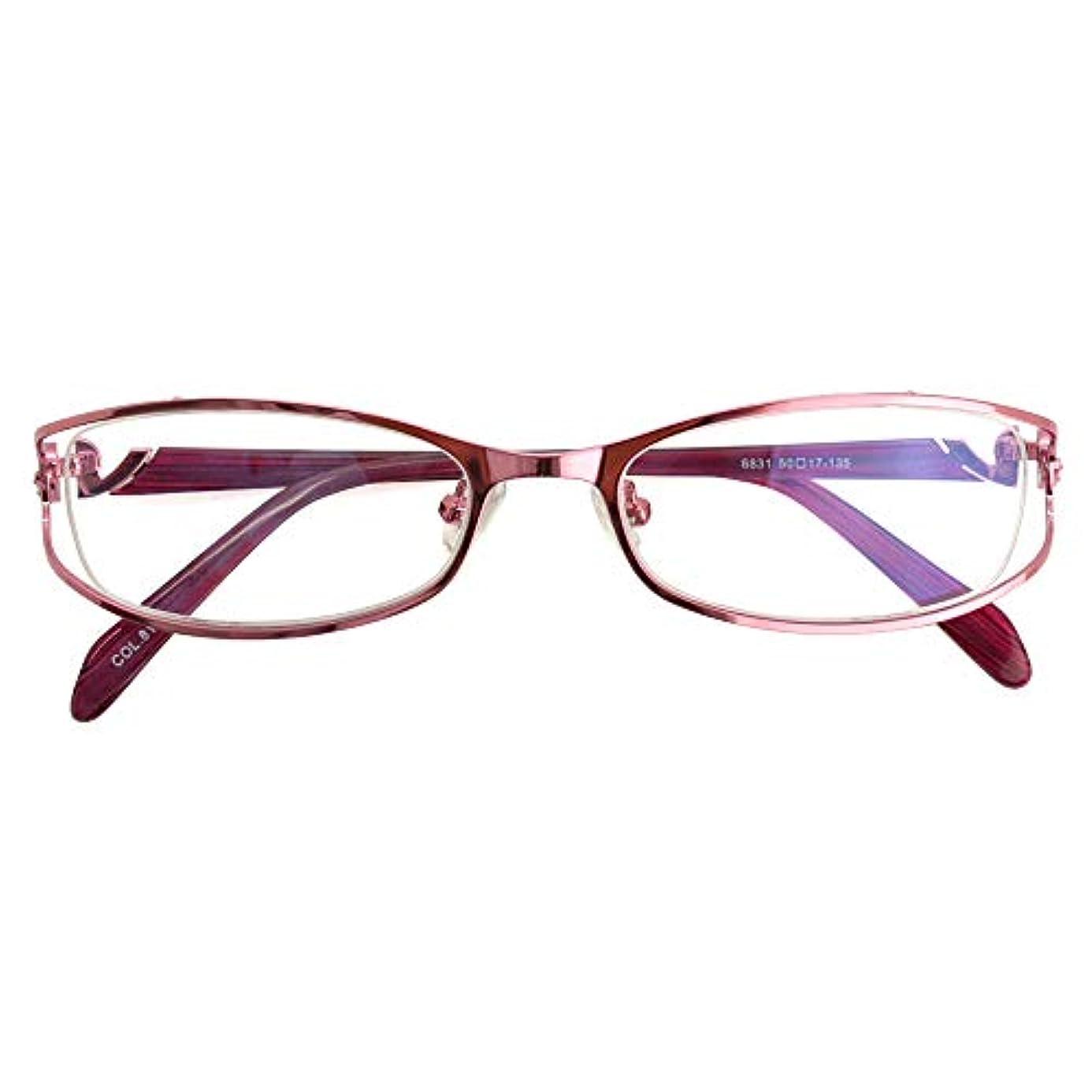 SHOWA (RSN) ピンクステン 遠近両用 メガネ (レディース セット) 全額返金保証 老眼鏡 リーディンググラス 眼鏡 (瞳孔距離:57mm~59mm, 近くを見る度数:+3.0)