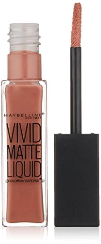 近代化反発葉を集めるMAYBELLINE Vivid Matte Liquid Nude Thrill (並行輸入品)