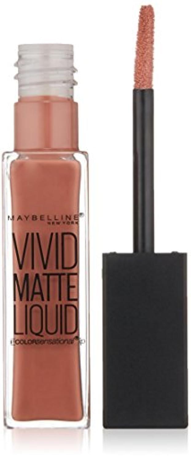 ボックス八百屋間MAYBELLINE Vivid Matte Liquid Nude Thrill (並行輸入品)