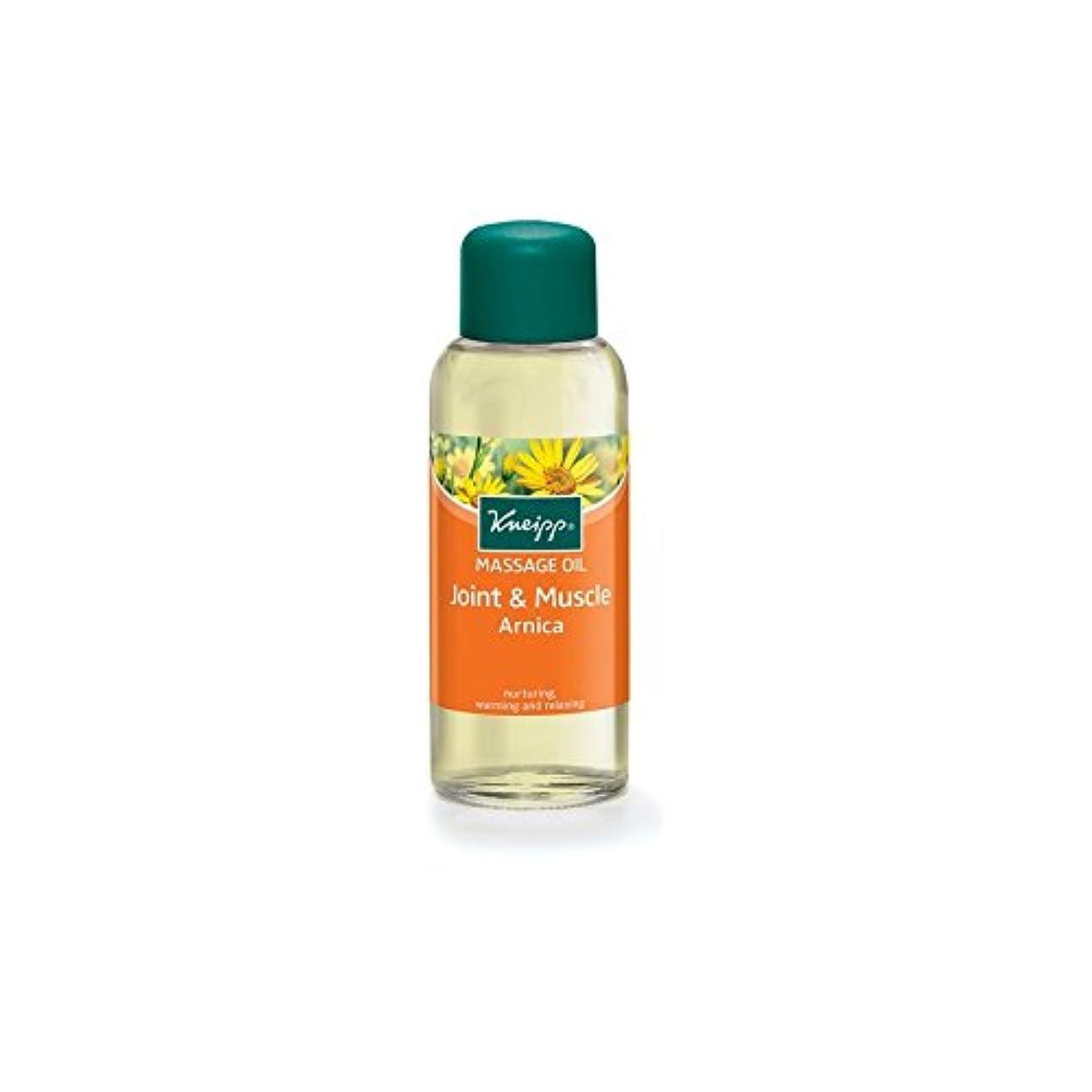 始まり媒染剤やりがいのあるクナイプの関節や筋肉アルニカマッサージオイル(100ミリリットル) x4 - Kneipp Joint and Muscle Arnica Massage Oil (100ml) (Pack of 4) [並行輸入品]