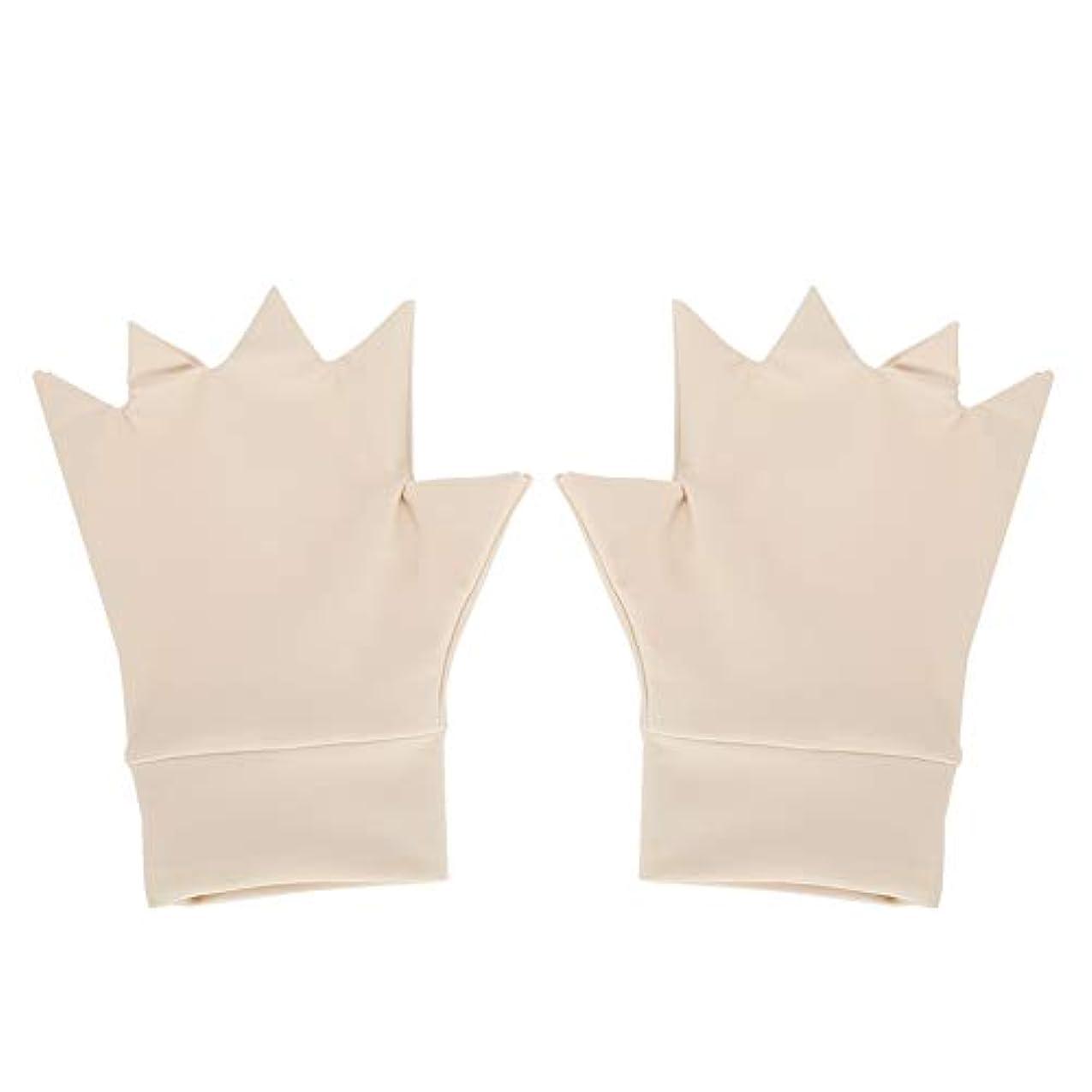 今晩背景コンパニオン抗関節炎の手袋、抗関節炎のヘルスケアの手袋の圧縮療法のリウマチの痛み