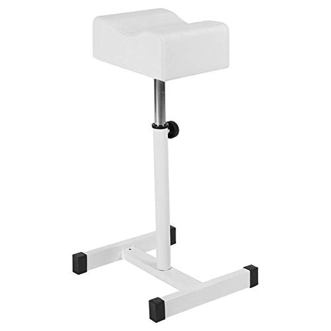叫び声印象派順応性のあるサロンスツール白、高さ調節可能な化粧品椅子スパスツールスパスイベルホームショップの快適なシートクッションスツールホワイト