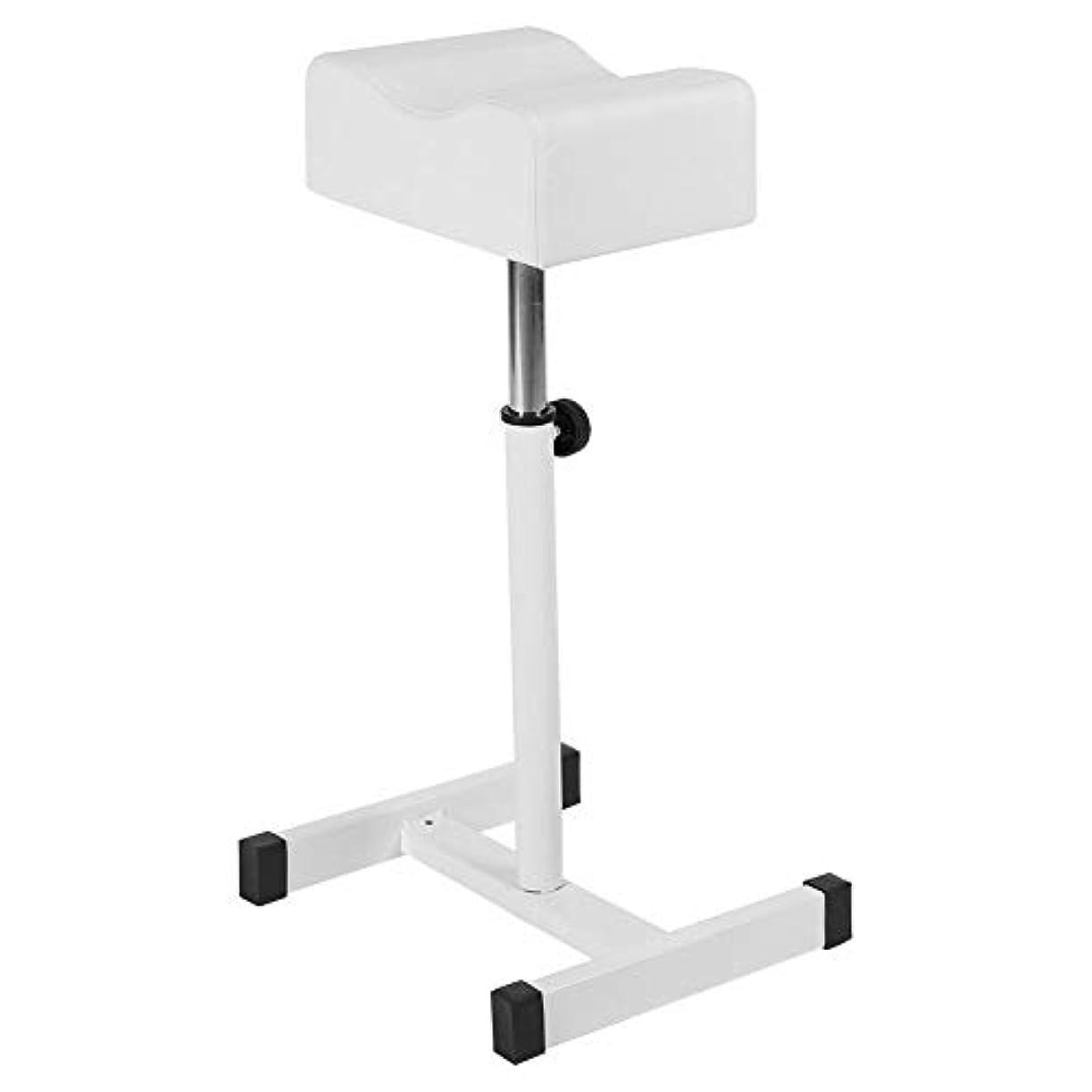 ハードウェア不健康クランシーサロンスツール白、高さ調節可能な化粧品椅子スパスツールスパスイベルホームショップの快適なシートクッションスツールホワイト