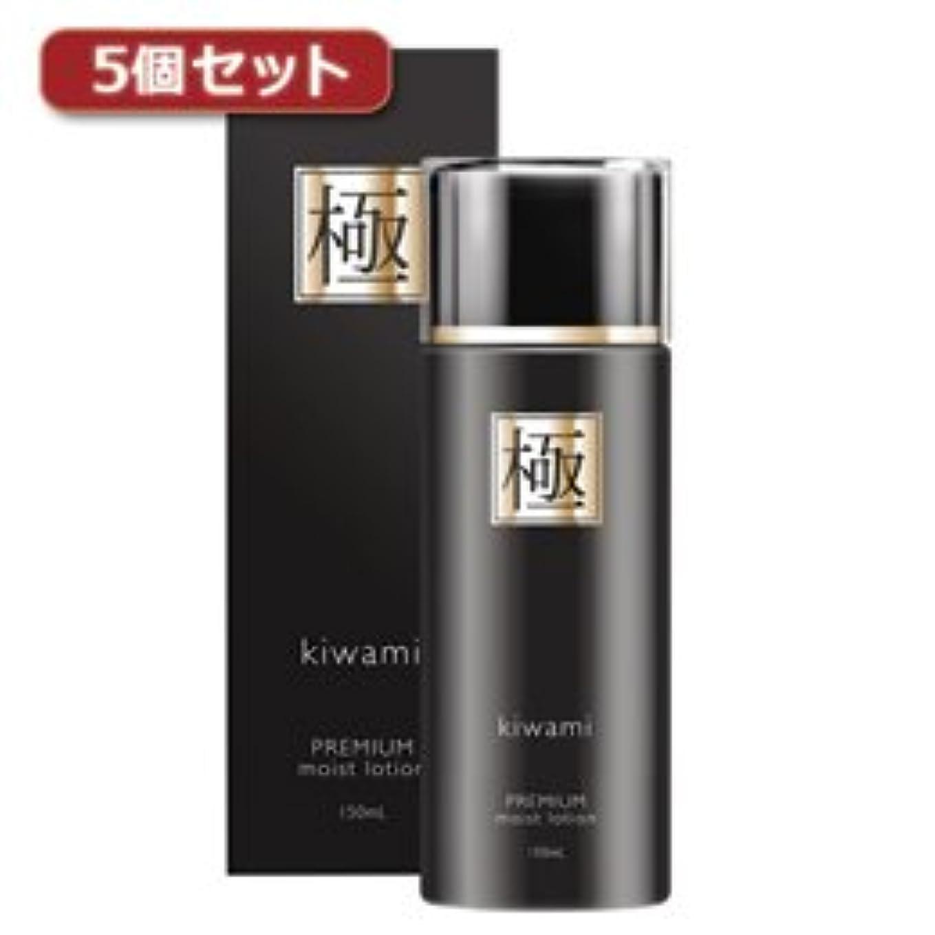 霧深いトーナメント乱す(3個まとめ売り) 5個セット極 プレミアムモイストローション premium moist lotion EV96454X5