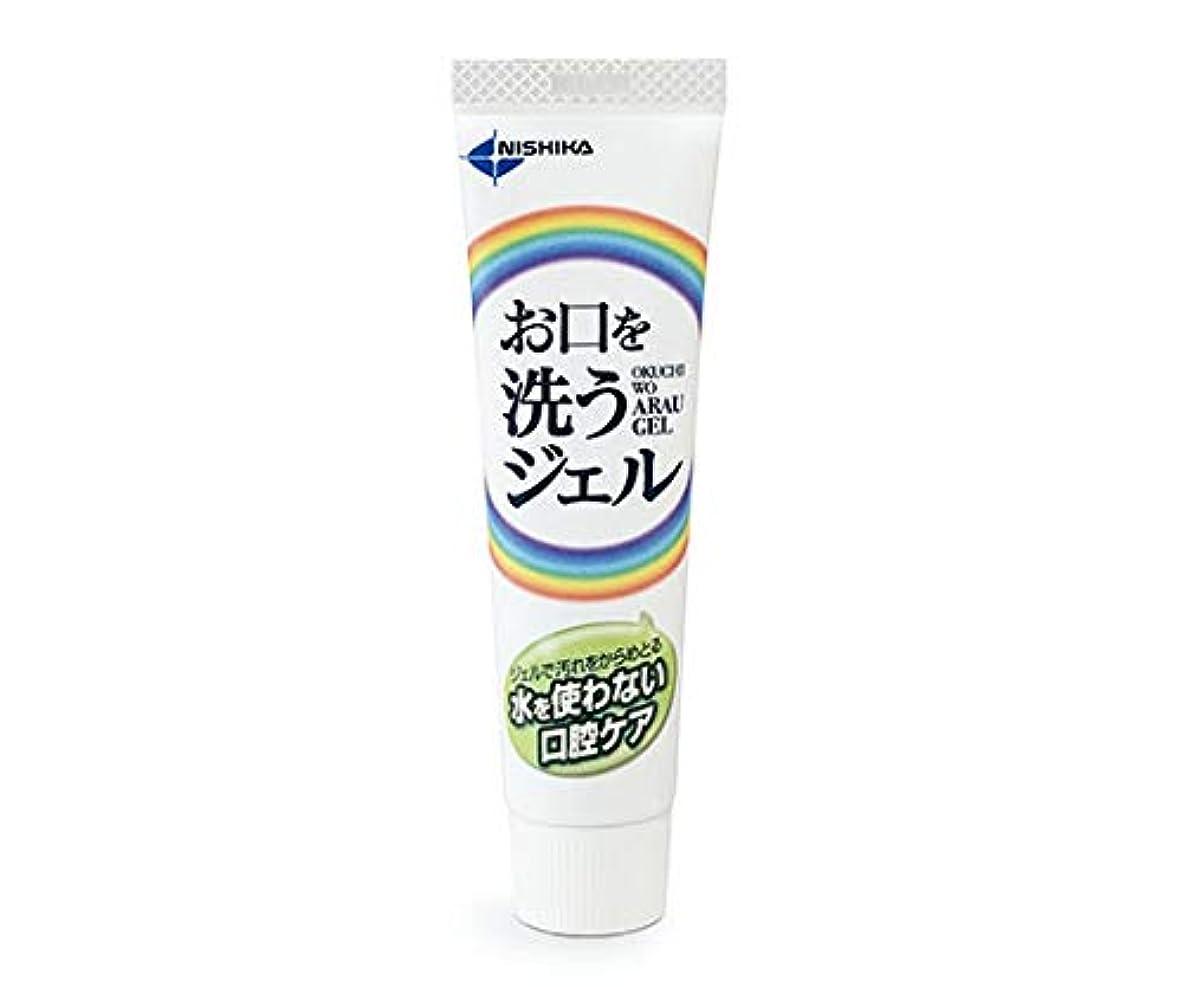 離れて支店薄める日本歯科薬品 お口を洗うジェル(口腔ケア用ジェル) 25g