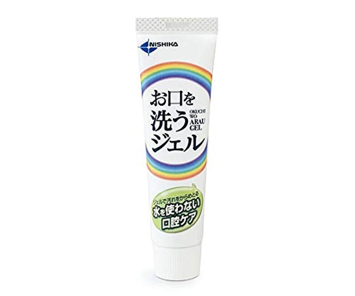 不変多様体名前日本歯科薬品 お口を洗うジェル(口腔ケア用ジェル) 25g
