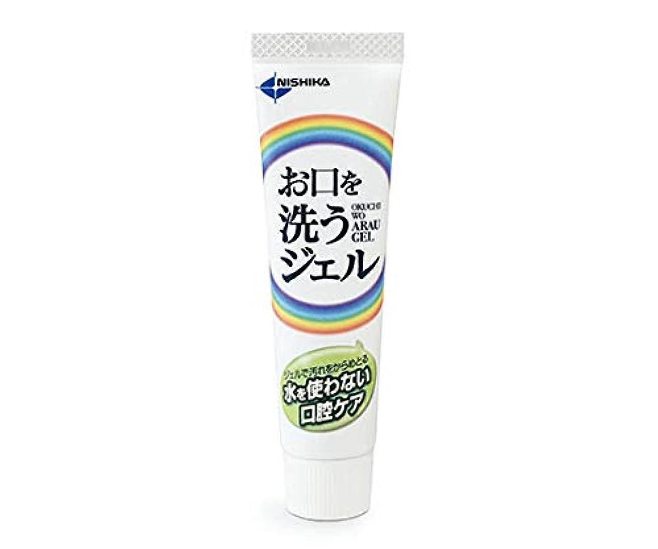 バリケード最も早い吸収日本歯科薬品 お口を洗うジェル(口腔ケア用ジェル) 25g