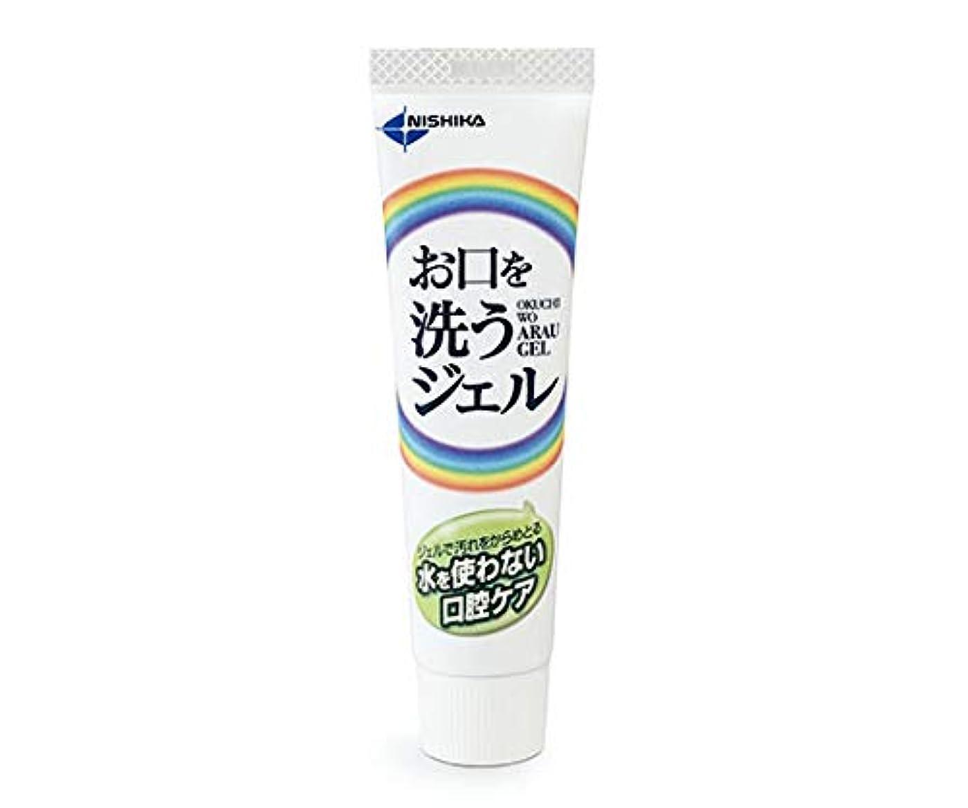 ドナウ川解凍する、雪解け、霜解け地図日本歯科薬品 お口を洗うジェル(口腔ケア用ジェル) 25g