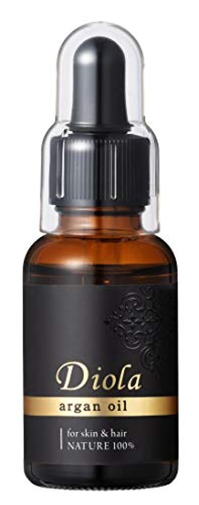 湿気の多い蓮審判DIOLA(ディオラ) ディオラ アルガンオイル スキン&ヘアオイル 30ml 美容液 30ml