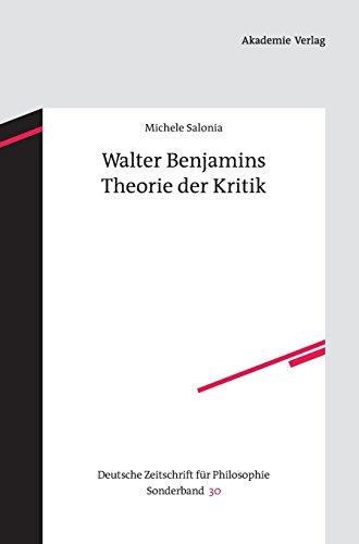 Walter Benjamins Theorie Der K...