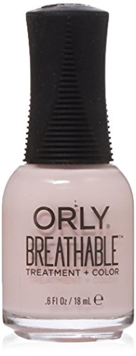 最も早いバッフル浮浪者Orly Breathable Treatment + Color Nail Lacquer - Pamper Me - 0.6oz / 18ml