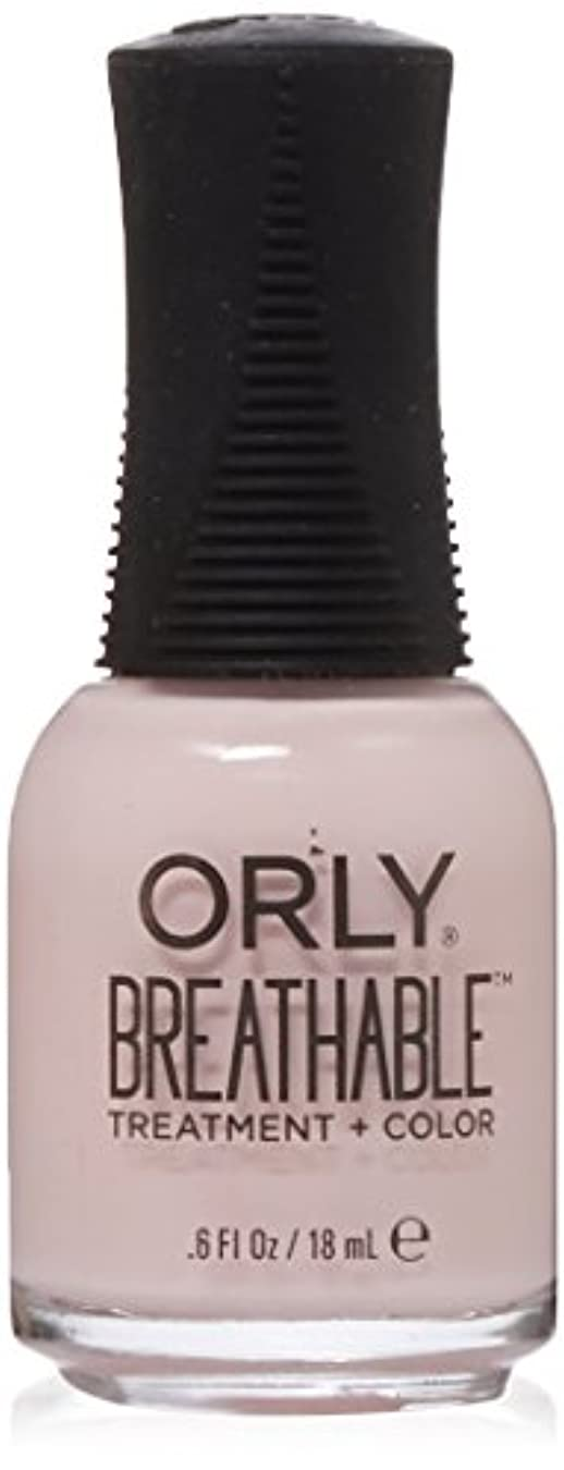 地雷原ラフト怠感Orly Breathable Treatment + Color Nail Lacquer - Pamper Me - 0.6oz / 18ml