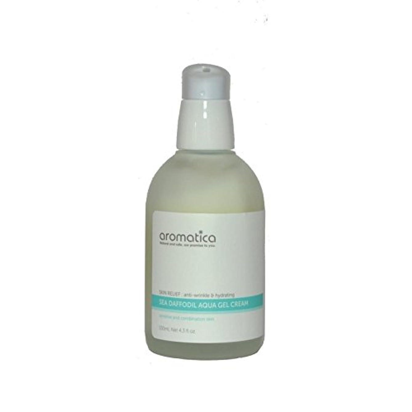 勉強するかどうか巨大な海水仙アクアゲルクリーム100ミリリットル x4 - aromatica Sea Daffodil Aqua Gel Cream 100ml (Pack of 4) [並行輸入品]