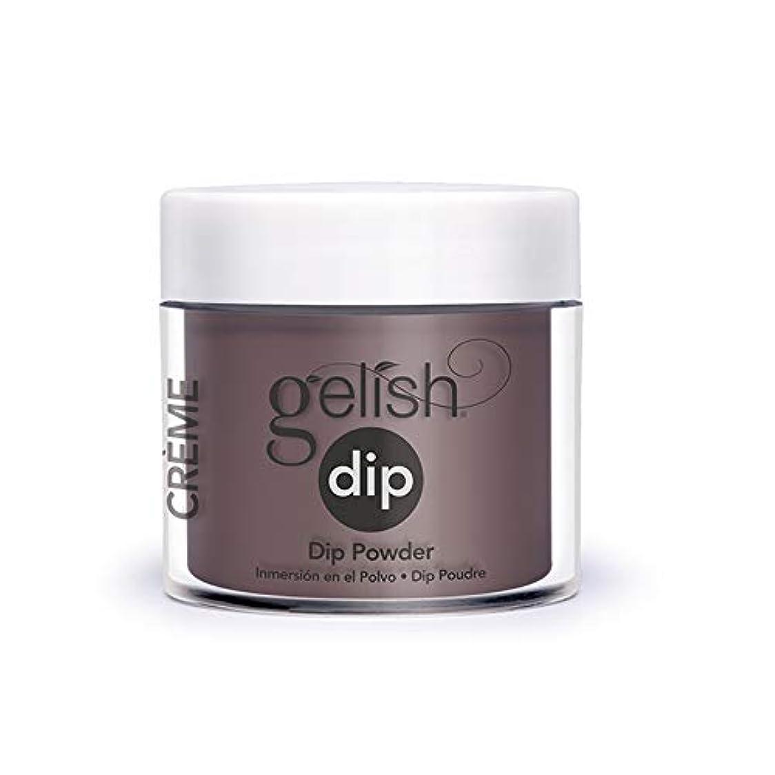 キャメルバドミントン蓋Harmony Gelish - Acrylic Dip Powder - On the Fringe - 23g / 0.8oz