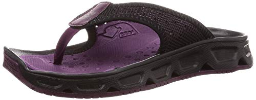 [サロモン] サンダル RX BREAK 4.0 W (リラックス ブレイク 4.0) レディース Potent Purple/Black/Black 25 cm
