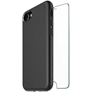 Patchworks iPhone8 iPhone7 ケース Chroma Case ガラスフィルム付き ブラック 【 二重構造 耐衝撃 オンライン専用パケ】 アイフォン 8 ケース