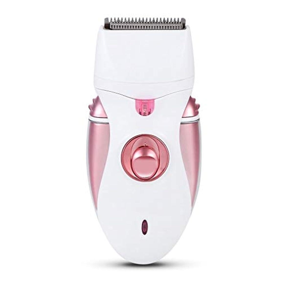 リビジョン子豚長さSCDLFQ 4-in-1脱毛器、ヘアスクラブ、女性用かみそり、ヘアリムーバー、すべての体の部分に適して