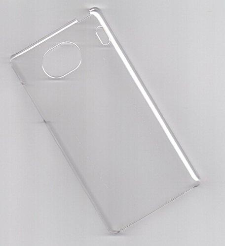 Qua phone QX KYV42 ハードケース クリア 透明 全機種対応 カバー 京セラ au