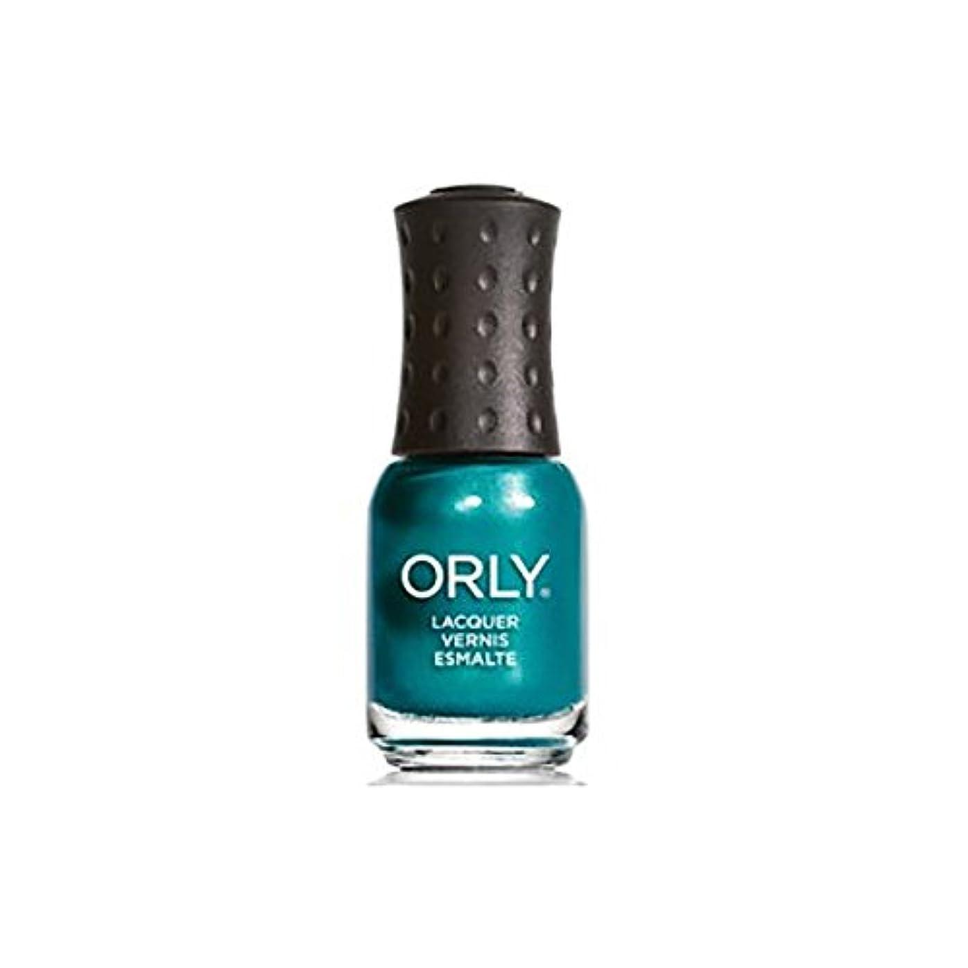 暴露ダウンタウン緑ORLY(オーリー)ネイルラッカーミニ 5.3ml イッツアップトゥブルー#48654