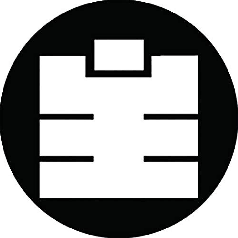 家紋シール 生の字紋 布タイプ 直径40mm 6枚セット NS4-1979