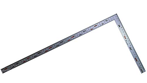 シンワ測定 シルバー曲尺 厚手広巾 50cm 10405