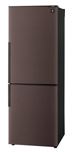 シャープ 冷蔵庫 スリム&シンプルデザイン プラズマクラスター搭載 271Lタイプ  ブラウン系 SJ-PD27C-T