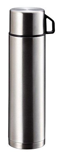 パール金属 水筒 1000ml コップ付 ダブル ステンレス ボトル スタイルベーシック H-6828