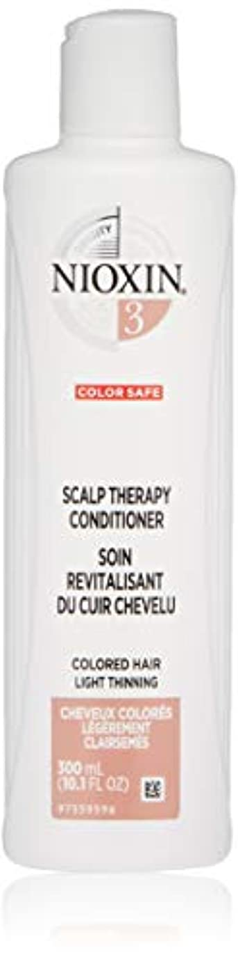 医薬品ガジュマル溢れんばかりのナイオキシン Density System 3 Scalp Therapy Conditioner (Colored Hair, Light Thinning, Color Safe) 300ml/10.1oz並行輸入品