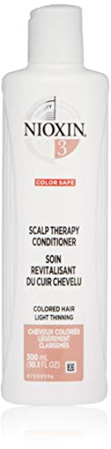 徹底周り役に立つナイオキシン Density System 3 Scalp Therapy Conditioner (Colored Hair, Light Thinning, Color Safe) 300ml/10.1oz並行輸入品