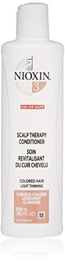 鉱夫批判的撃退するナイオキシン Density System 3 Scalp Therapy Conditioner (Colored Hair, Light Thinning, Color Safe) 300ml/10.1oz並行輸入品