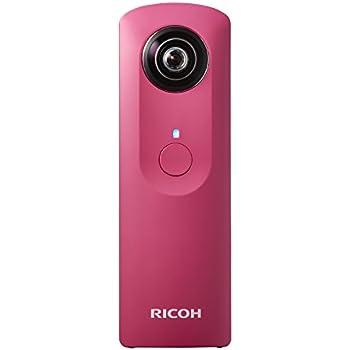 RICOH デジタルカメラ RICOH THETA m15 (ピンク) 全天球 360度カメラ 0910701