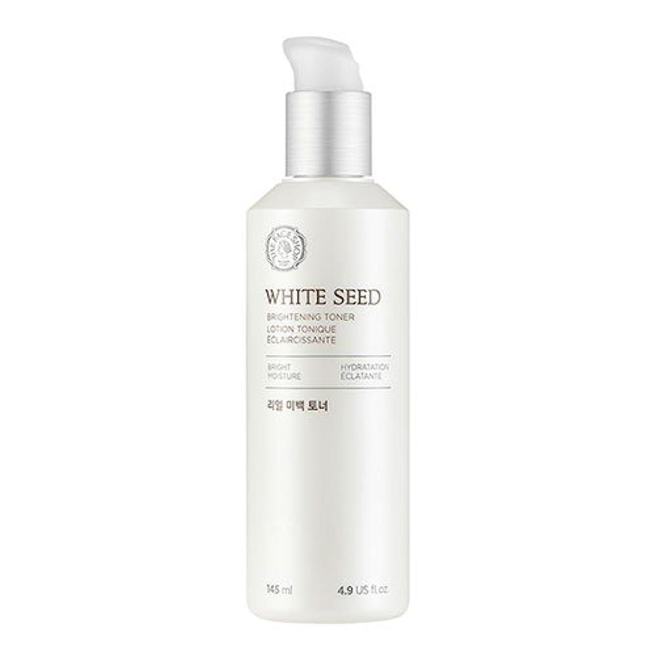 さらに散逸アコードザフェイスショップ(THEFACESHOP) ホワイトシードビライトニングトナー 化粧水 WHITE SEED BRIGHTNING TONER 145ml