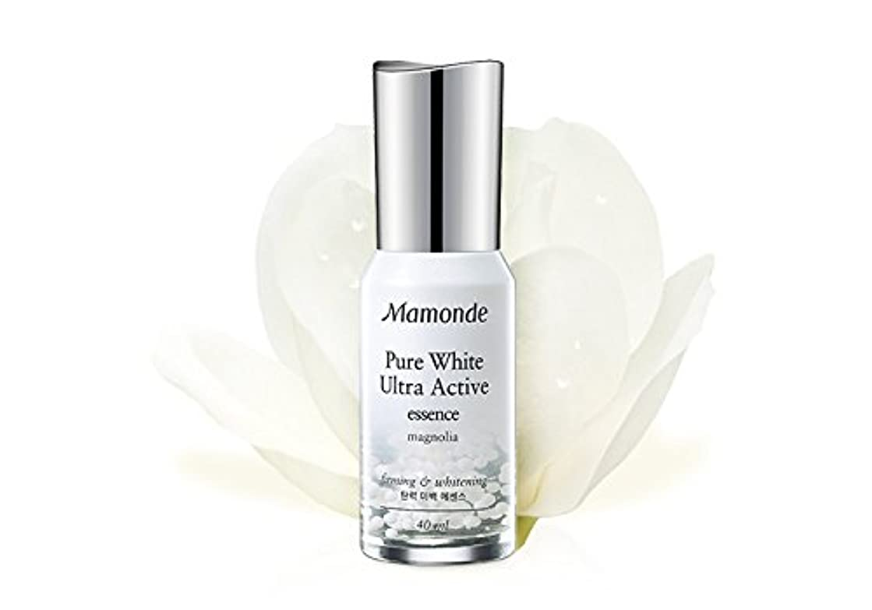 揮発性約植木[MAMONDE/マモンド] Pure White Ultra Active essence/ピュアホワイトウルトラアクティブエッセンス セラム 美容液 お肌 スキンケア SkinGarden/スキンガーデン