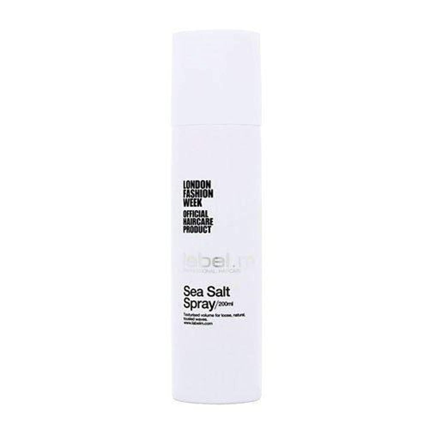 音ビデオ床を掃除するToni & Guy Label.m海塩ユニセックス、6.76オンススプレー 6.76オンス
