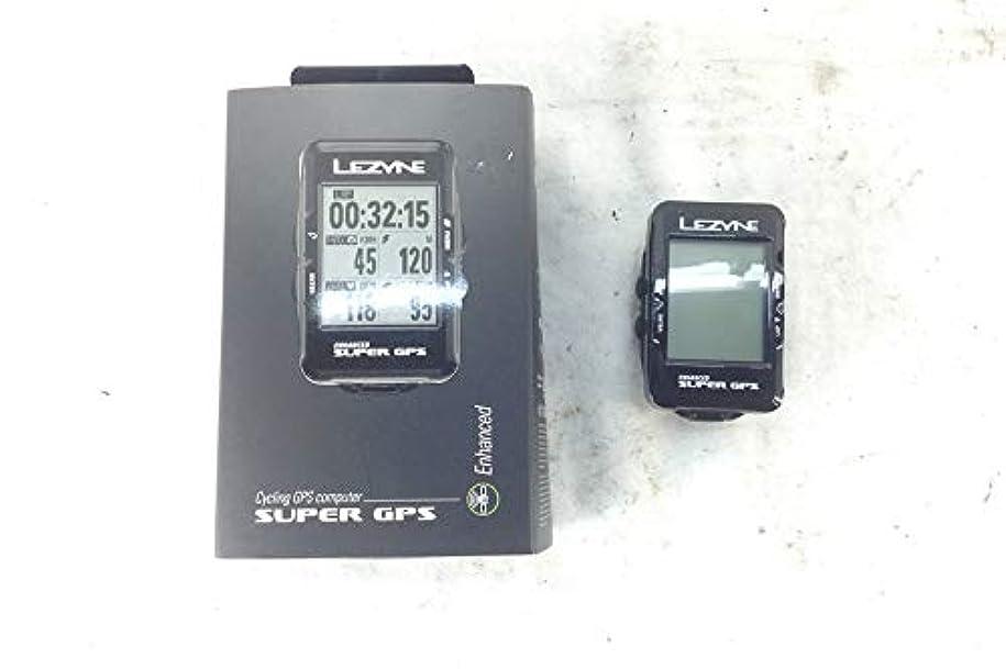 フラッシュのように素早く繊毛信仰LEZYNE(レザイン) SUPER GPS(スーパーGPS) サイクルコンピューター