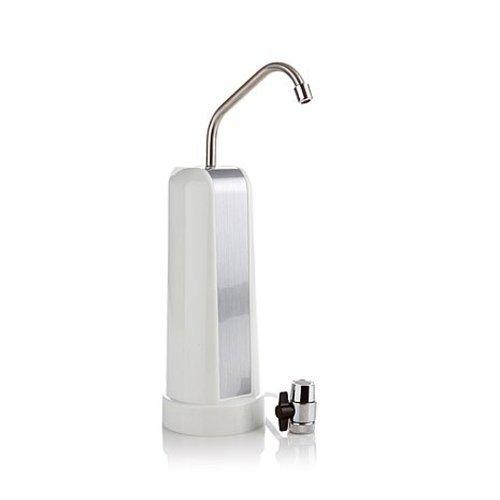 PureBlueH2O D-AZ-P35W Countertop Water Filter White Finish [並行輸入品]