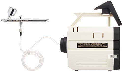 タミヤエアーブラシシステム No.41 スプレーワーク HG コンプレッサー レボII (HGエアーブラシIII付) 74541