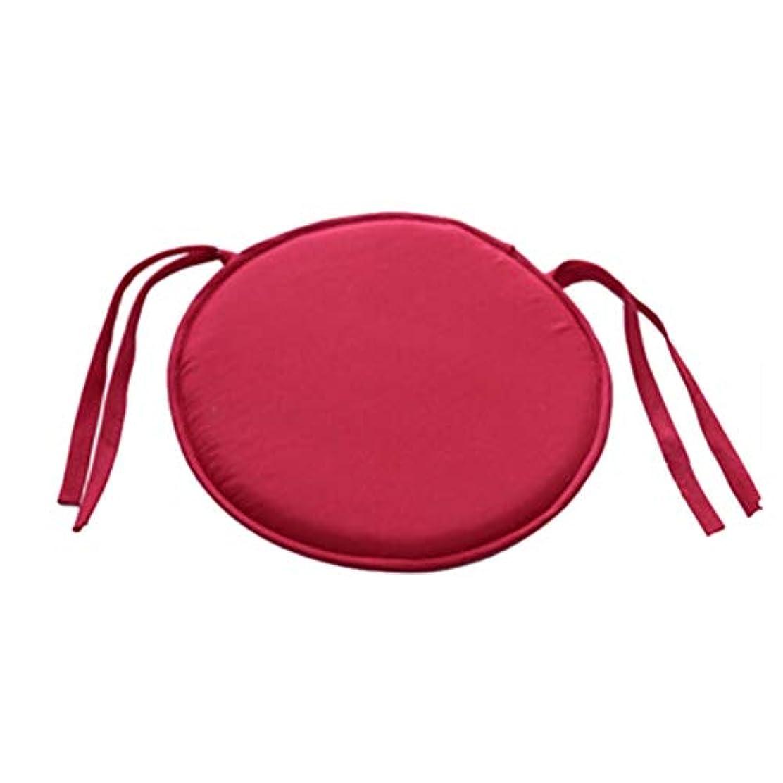 単なる公演細部SMART ホット販売ラウンドチェアクッション屋内ポップパティオオフィスチェアシートパッドネクタイスクエアガーデンキッチンダイニングクッション クッション 椅子