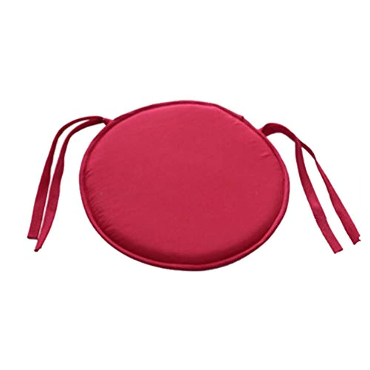 セグメント緊張ブッシュSMART ホット販売ラウンドチェアクッション屋内ポップパティオオフィスチェアシートパッドネクタイスクエアガーデンキッチンダイニングクッション クッション 椅子