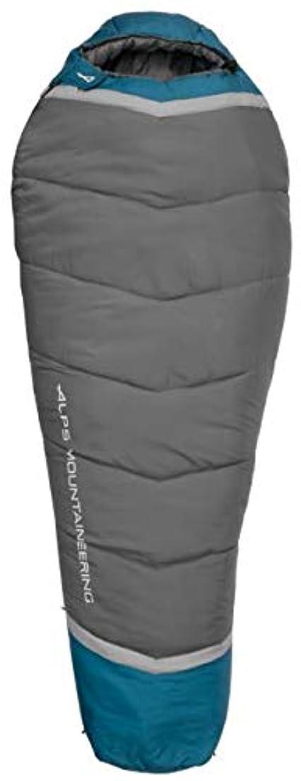アカデミック自己ランデブーALPS 登山用Blaze 0 寝袋 レギュラー ブルーコーラル/炭 32インチ x 80インチ 4551433