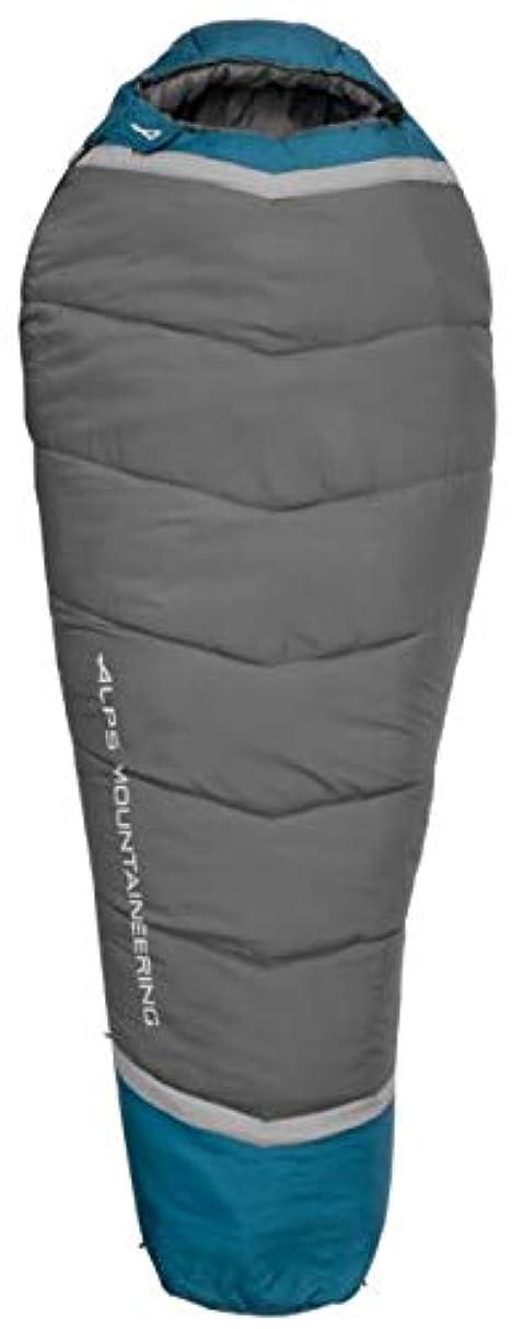 天国タッチ面倒ALPS 登山用Blaze 0 寝袋 レギュラー ブルーコーラル/炭 32インチ x 80インチ 4551433