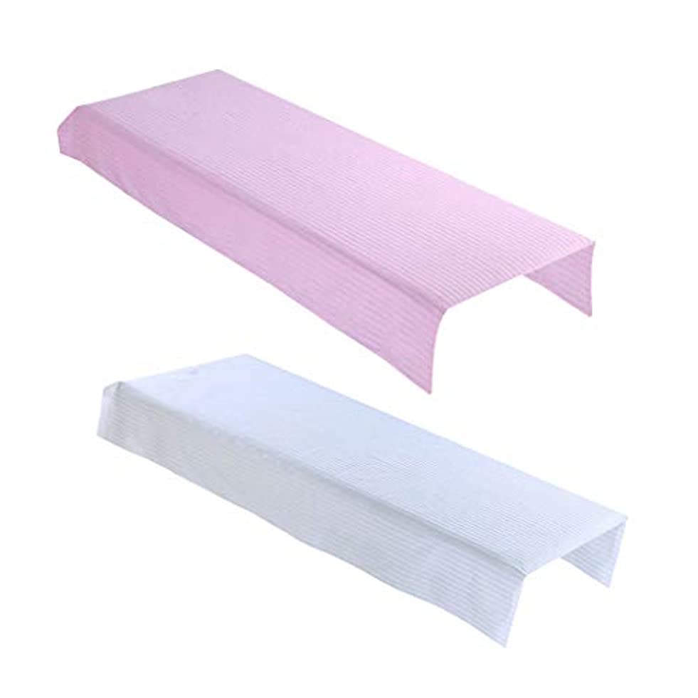 メトロポリタン膨張する貨物P Prettyia マッサージベッド カバー 美容ベッドシート マッサージテーブルカバー スパベッドカバー