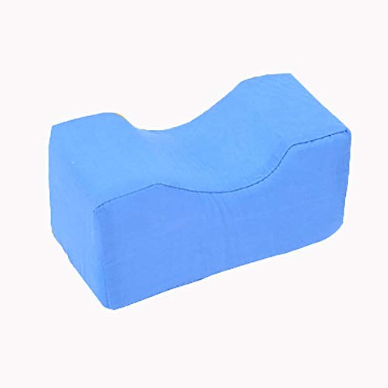 補正吸収剤男らしい泡脚リフトパッド、足首サポート、泡脚を覚えやすい、洗えるふた付き、手術、けが、休息のための枕をサポートし、上げる (ブルー)