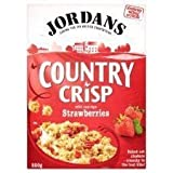 ジョーダン Jordans Country Crisp With Sun-Ripe Strawberries 500G by Jordans & Ryvita Company Ltd [並行輸入品]