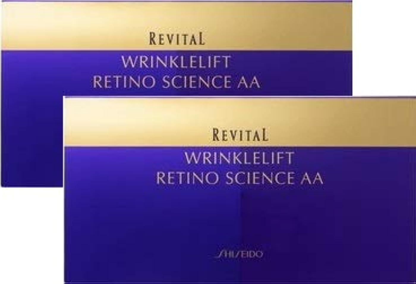 減る狼改善リバイタル リンクルリフト レチノサイエンスAA N 12包(24枚) 【医薬部外品】×2個セット