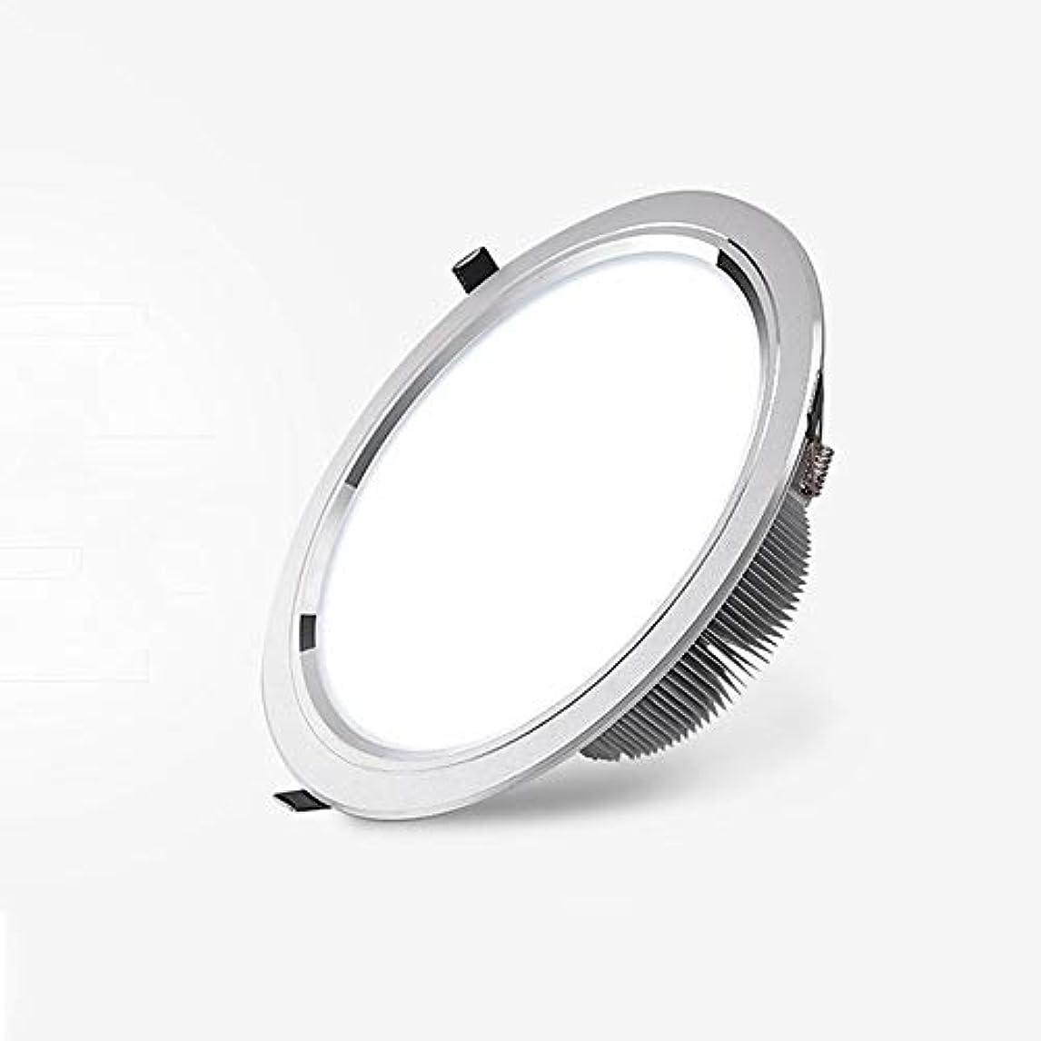 対シンポジウム音声Lyuez LEDウォールは、環境保護や省エネアイスポットライトのエネルギー消費のダウンライトを内蔵シーリングライトCOB超薄型ダウンライトを開く5W無料のマウント (Size : 15w)