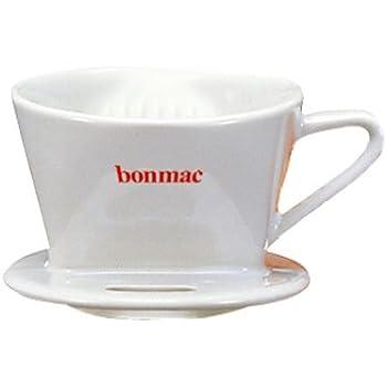 bonmac ドリッパー ホワイト 【1~2杯用】CD-1W #813003